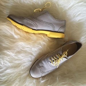 Cole Haan Gramercy Oxford Women's Lace Up Wing Tip